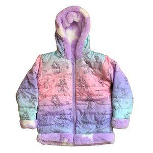 Disney Frozen Kids Reversible Fleece Jacket